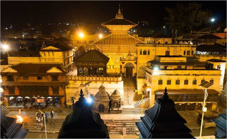 108_Night_View_Of_Pasupatinath_Temple