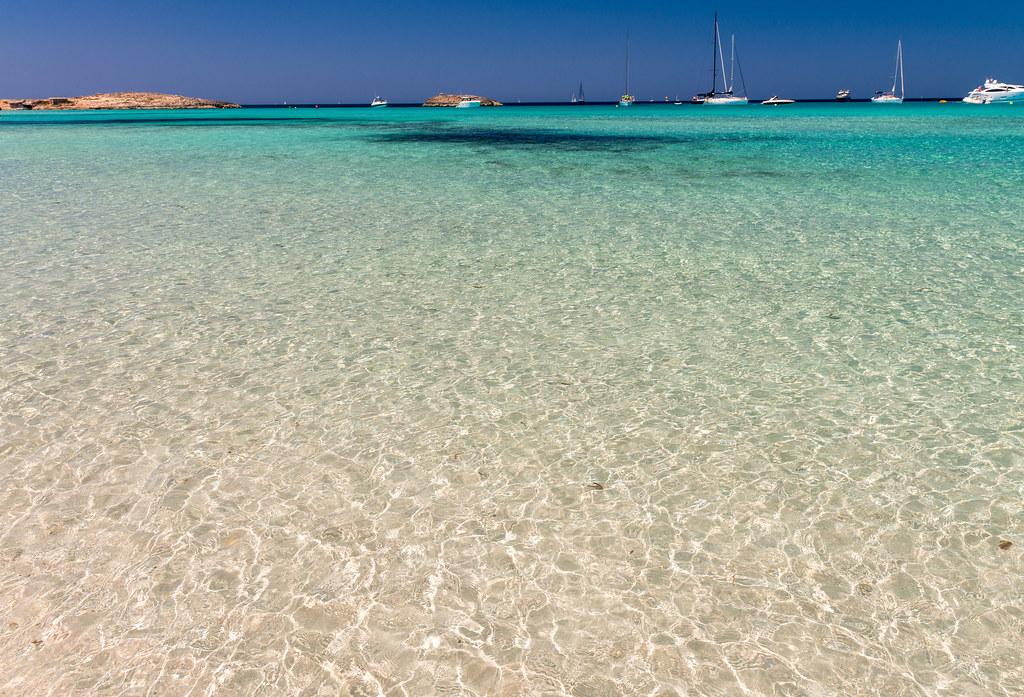 Ses Illetes Beach in Formentera, Spain