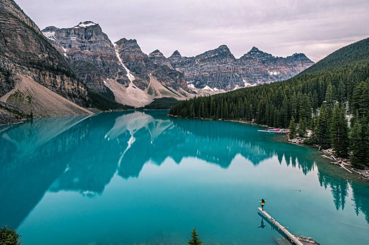 Moraine Lake - Alberta, Canada - Travel photography