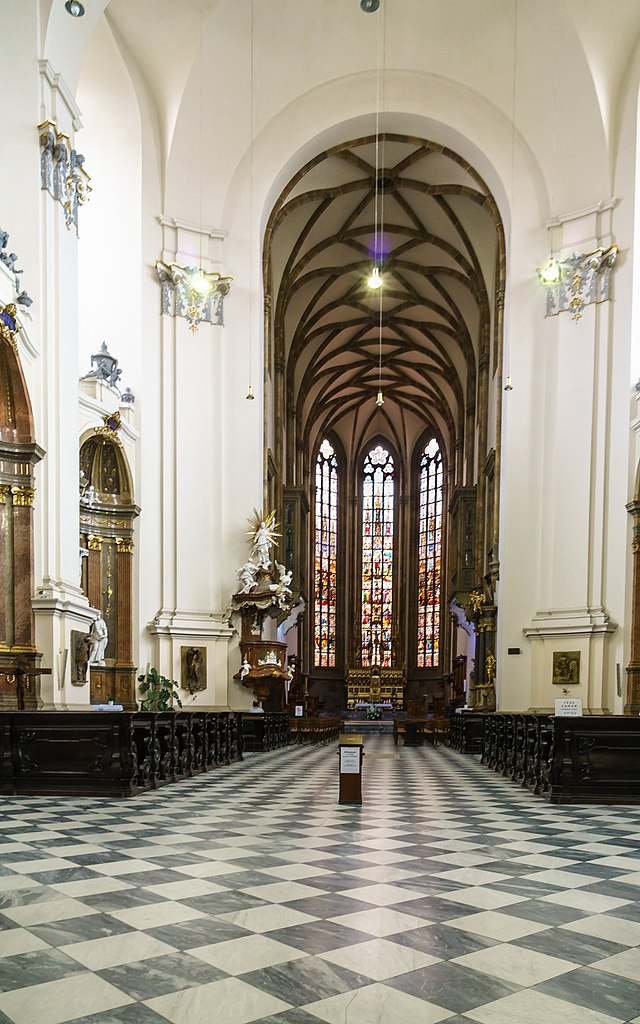 Kathedrale St. Peter und Paul Petrov 9 in Brno