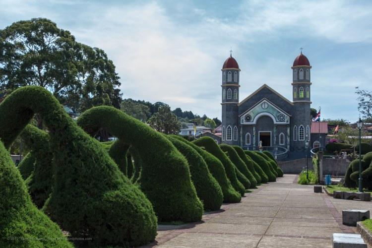 Parque Francisco Alvarado, Zarcero, Costa Rica