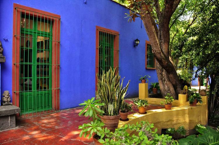 Frida-Kahlo-Museum-Coyoacan-Mexico