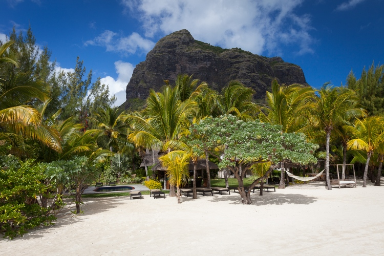 Le Morne beach Mauritius Afrika tunliweb