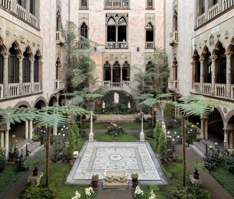 Courtyard, Isabella Stewart Gardner Museum, Boston