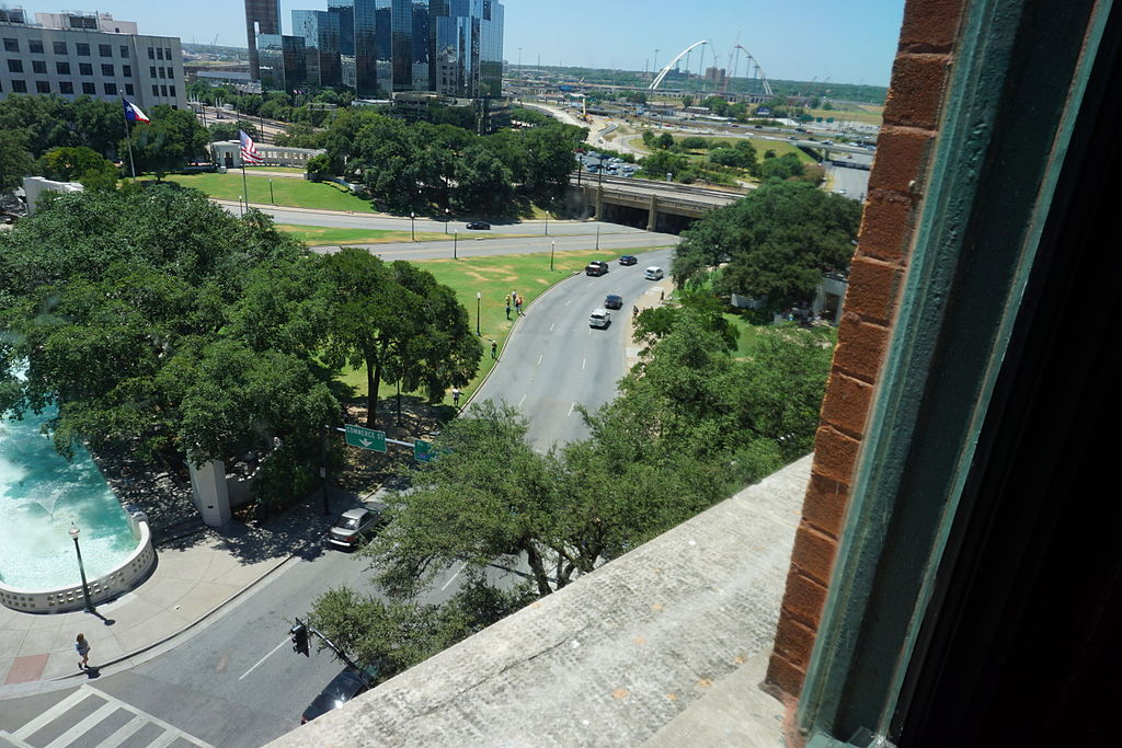 View_from_the_seventh_floor_of_The_Sixth_Floor_Museum_August_2015