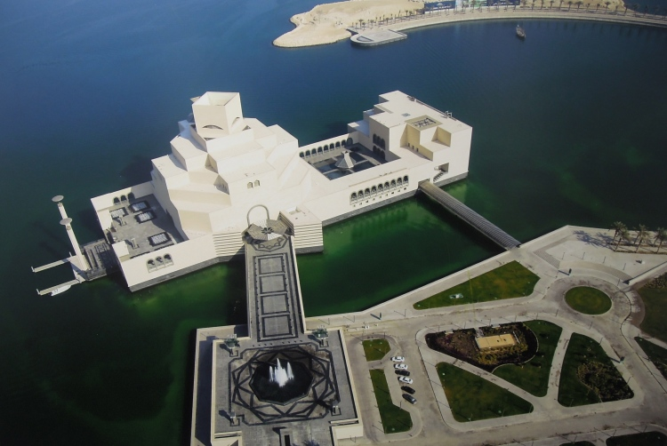 View_of_Museum_of_Islamic_Art_Qatar_from_above